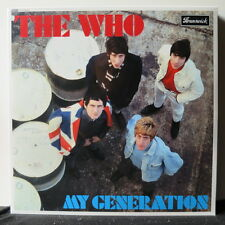 THE WHO 'My Generation' Vinyl LP NEW & SEALED