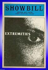 Playbill + Extremities + Susan Sarandon , Deborah Hedwall , Glenne Headly