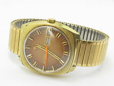 Vintage Enicar Gent's Man's Automatic Wind Day Date Watch