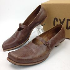 CYDWOQ  Next Vintage Shoes brown Distressed Women sz 39 US 8 Handcrafted in USA