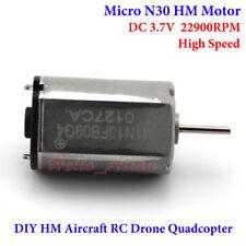 DC 3V-6V 17000 Rpm Mini 21 mm de alta velocidad eléctrico Motor de corriente continua Hazlo tú mismo Hobby Coche de Juguete Modelo