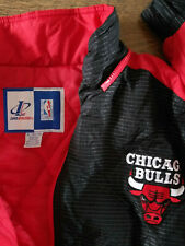 Vintage NBA Chicago Bulls Men's winter Jacket black & red  size XL