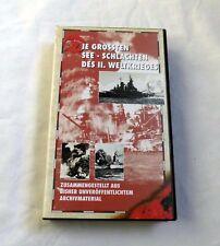 Die Grössten Seeschlachten des 2. Weltkrieges - VHS (1992)