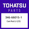 346-66015-1 Tohatsu Cam rod ll (23) 346660151, New Genuine OEM Part