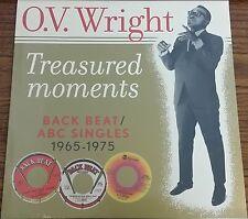 O.V. Wright TREASURED MOMENTS: BACK BEAT / ABC SINGLES 1965-75 New Vinyl LP