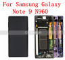 For Samsung Galaxy Note 9 N960 OLED LCD Display Touch Screen Assembly+Frame