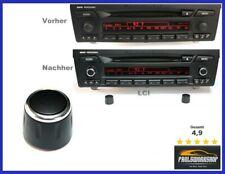 ORIG. 1x Radio Professional bottone girevole Regolatore di Volume bottone BMW e81 e87 e88 e90