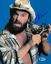 Skinner Steve Keirn Signed 8x10 Photo BAS Beckett COA WWE 1991 Picture Autograph