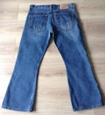 LEVI'S 516 JEANS BOOTCUT SIZE 34 x 27 MADE IN SPAIN VGC SEE DESCRIPTION