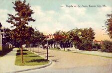 Pergola On The Paseo Kansas City, Mo 1909