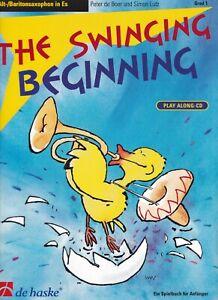 de Boer / Lutz : The Swinging Beginning, Spielbuch für Alt- / Baritonsaxophon