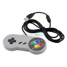Wired USB SNES Controller Retro Gaming Joystick Joypad Gamepad For Nintendo