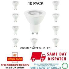 Osram 5 watts Blanc froid Gu10 LED Ampoule Lampe 4000k a Énergie Classé - 10