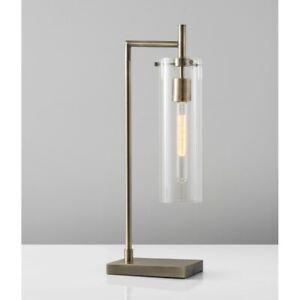 Adesso Dalton Table Lamp, Antique Brass - 3852-21