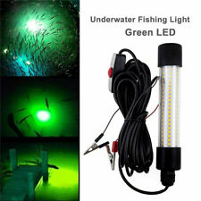 1200LM LED Submersible Fishing Night Light Underwater Fish Lure Bait Finder Lamp