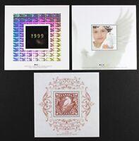 CANADA 1999 #1812i, 1813i, 1814i, Millennium set of 3 Souvenir Sheets S/S MNH