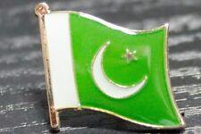 PAKISTAN Pakistani Metal Flag Lapel Pin Badge *NEW*