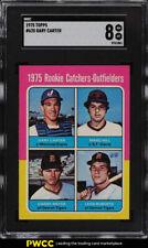 1975 Topps Gary Carter ROOKIE RC #620 SGC 8 NM-MT (PWCC)