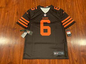 Nike Men's Baker Mayfield Cleveland Browns Color Rush Legend Jersey Large L NFL