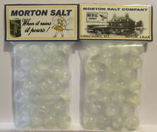 2 Bags Of Morton Salt Promo Marbles