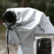 Matin SLR DSLR Camera & Lens Rain Cover Cloth Protector Silver Large 400mm u