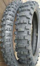 ENDURO Set di pneumatici Michelin AC 10 120/90/18 80/100/21 ac10 strade corso lasciano