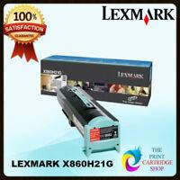 New & Original Lexmark X860H21G Black High Yield Toner X860DE 3 X860DE 4
