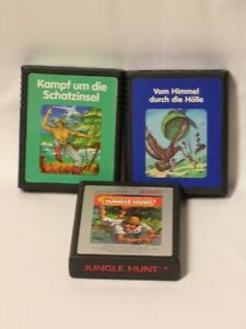 Atari 2600 Spielesammlung Konvult #107 Action - Abenteuer Games