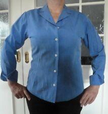 Damen Bluse United Colors of Benetton Gr. 38 40 M blau Büro