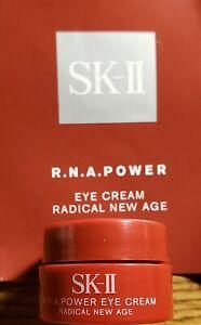 SK-II R.N.A. Power Eye Cream Radical New Age Deluxe Trial Size Samp. 2.5g 0.08oz