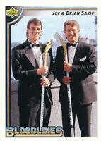 Joe Sakic 1992-93 Upper Deck #36 Nordiques Hockey Card