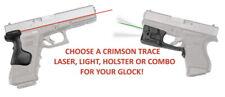 Crimson Trace Laser, Light & Holster Combination For Glock Mod. 17 19 20 21sf 22