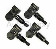 New 315 mhz TPMS Set Black Stem Fits 2007 Nissan 350z Coupe Convertible