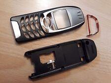 NEUE, KOMPLETTE Beschalung für Nokia 6310i Nokia 6310  in Farbe schwarz-silber