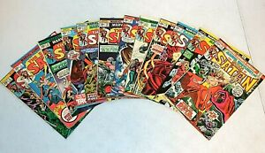 12 lot MARVEL SPOTLIGHT on The SON OF SATAN 13-19, 22-24 + The SON OF SATAN 1, 2