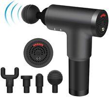6 Speeds Massage Gun, Cordless Handheld Deep Tissue Muscle Massager, Chargeable