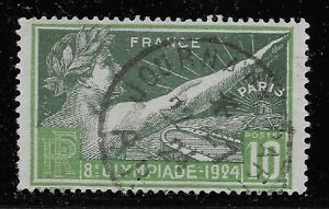 France Scott #198, Single 1924 FVF Used