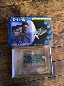 NEW D-LINK DFE-530TX+ FAST ETHERNET 10/100 Mbps NETWORK ADAPTER