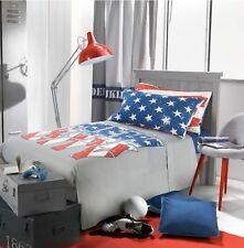 """Completo letto lenzuolo copriletto Gabel """"New York"""" cotone stampa digitale"""
