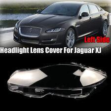 Left Side Headlight Headlamp Lens Replacement Cover For Jaguar XJ 2010-2019