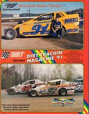 Dirt Trackin' Magazine Billy Decker & Bob McCreadie Vol.12 No.14 1991 052118nonr