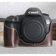 Ciesta Leather Half Case Canon 5D3 Dark Brown