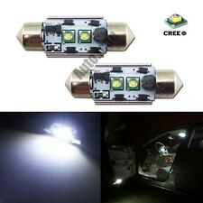 10W HID White Canbus 36mm 6411 C5W CREE XP-E LED Bulbs For License Plate Lights
