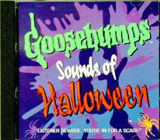 GOOSEBUMPS: SOUNDS OF HALLOWEEN CLASSIC 1996 SOUND EFFECTS & MUSIC (FAN CLUB CD)