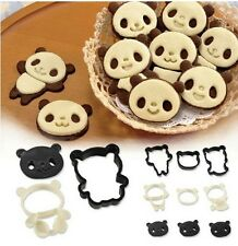 1 SET Cut Panda Cake Cookie Biscuit Cheese Vegetable Food Cutters Molds Moulds