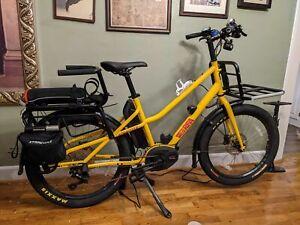 Xtracycle RFA Sport Electric Compact Cargo Bike w  Bosch Speed Motor