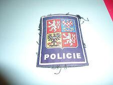 insigne tissu police-patch rep tcheque