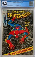 Amazing Spider-Man #100 CGC 9.2 White Pages Classic 100 anniversary issue!~L@@K!