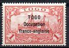 GERMANY COLONIES TOGO FRANZ OCCUPATION Mi.16.CV.38000 €.MH SIGNED