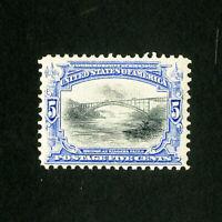 US Stamps # 297 Superb Mint P.O. fresh OG NH Scott Value $180.00